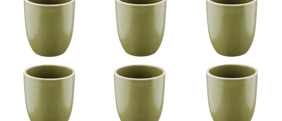 Mug ORIGIN 20cl - 6 pièces - Argile