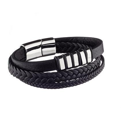 Bracelet Dauphine - cuir