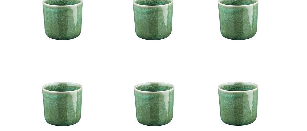 Mug MAGMA 20cl - 6 pièces - Menthe
