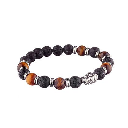 Bracelet Télégraphe - pierres naturelles