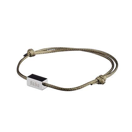 Bracelet Pont Marie kaki