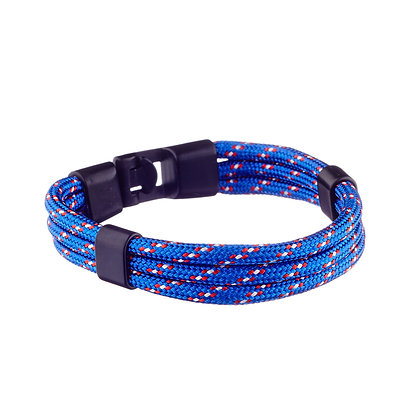 Bracelet Brochant bleu