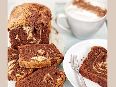 Chocolate & Vanilla marble cake
