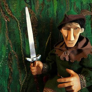 Robin Hood puppet show - Rattlebox Theatre