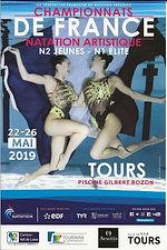 Affiche championnats de France Jeunes.JP