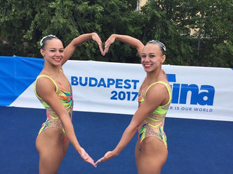 Laura et Charlotte à Budapest 2017