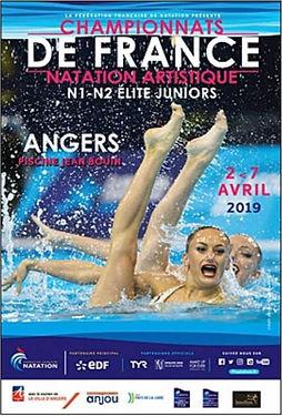 Affiche championnat de France Junior 201