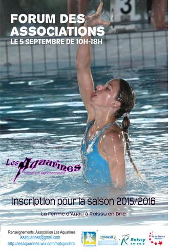 Inscriptions saison 2015/16