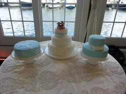 Wedding Cake Desert Table