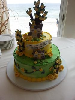 Baby Shower Cake Owls