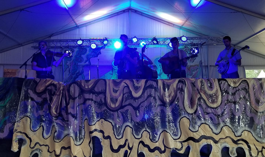 """Arise Music Festival """"SALT"""" stage"""