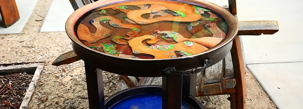 Watercolor Table