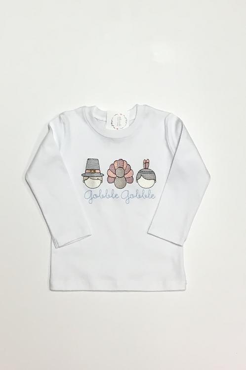 Boys Thanksgiving Trio Shirt