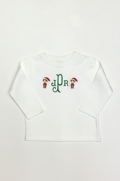 Mini Elf on the Shelf Shirt