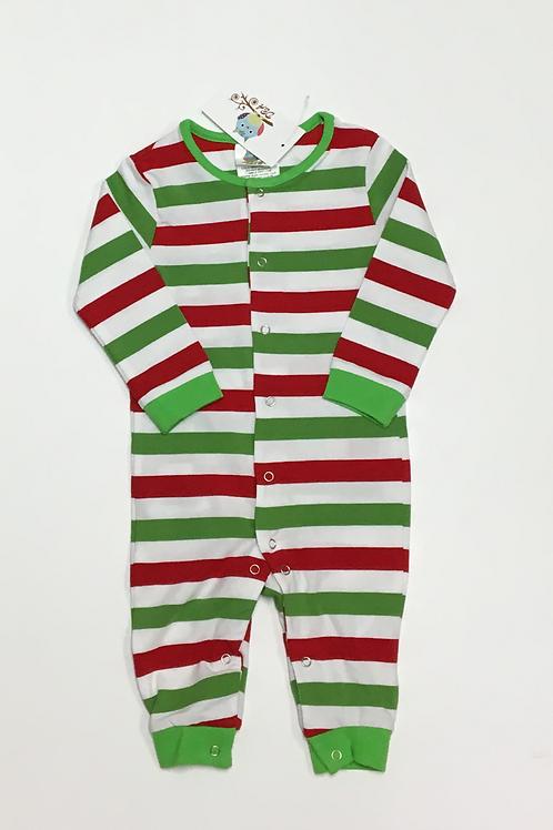 Multi-Stripe Christmas Pajama