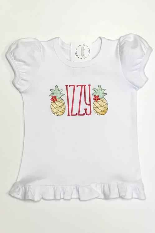 Girls Pineapple Shirt