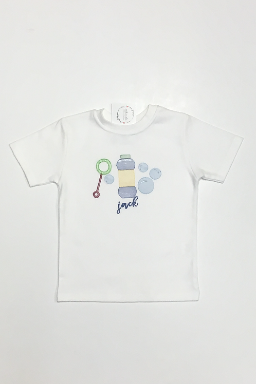 Boys Bubbles Embroidery Shirt