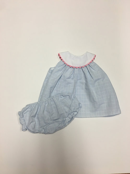 Petit Ami Popover Top & Bloomers