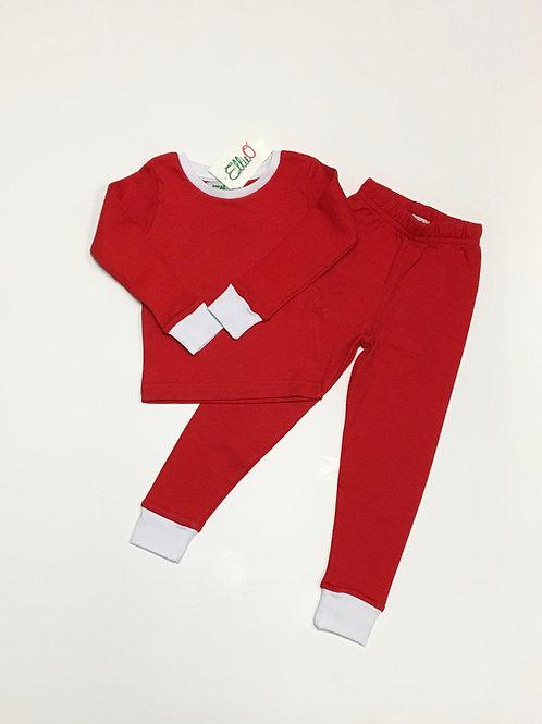 Red Two-Piece Pajama