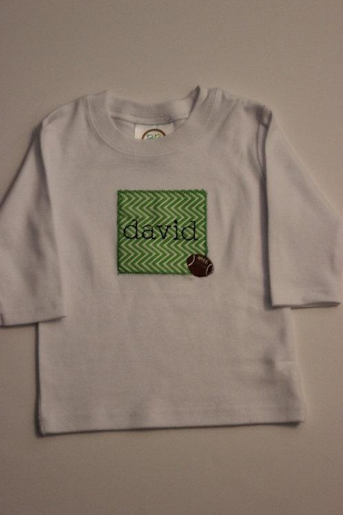 Football Long Sleeve Tshirt