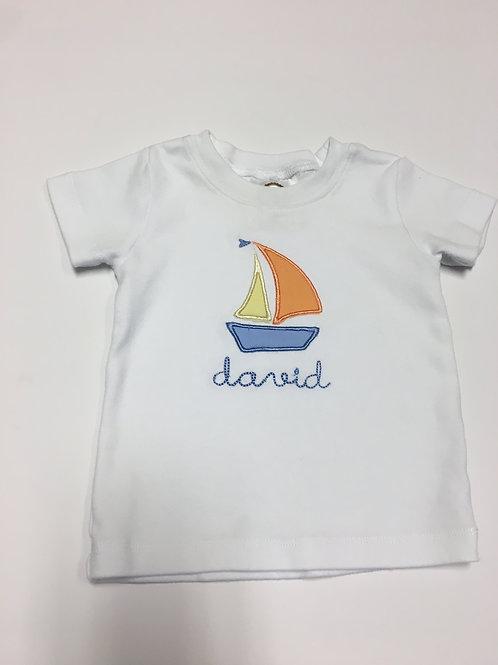 Sailboat Applique T-shirt