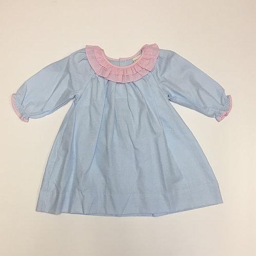 Petit Ami Blue and Pink Dress