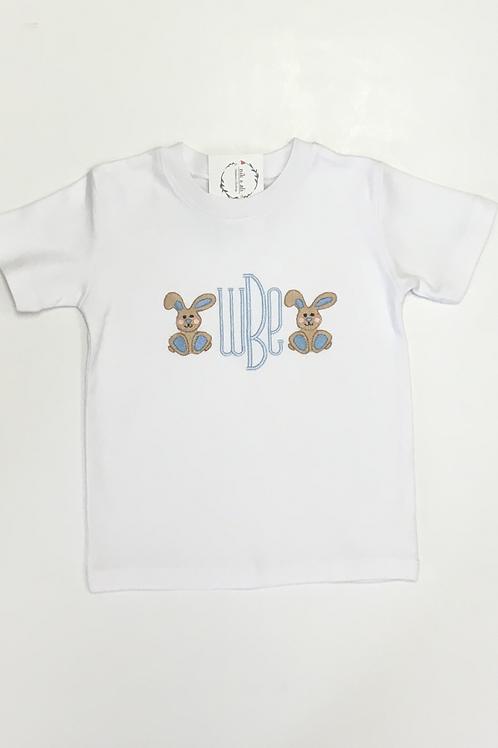 Boys Mini Bunny Monogram