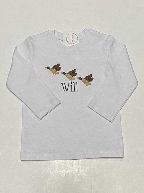 Boys Flying Ducks Shirt