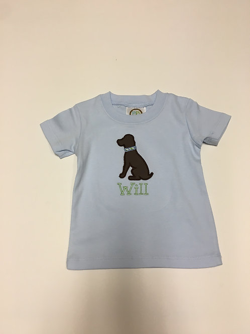 Dog Applique Shirt