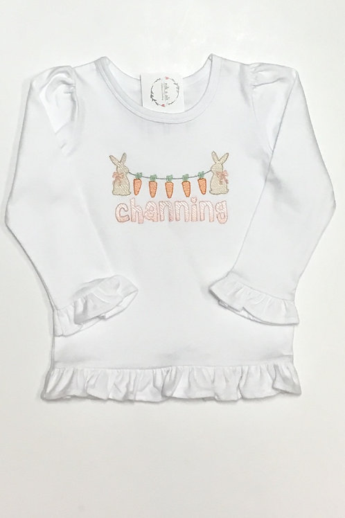 Girls Bunny Carrot Ombre