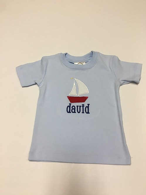 Sailboat Applique Shirt