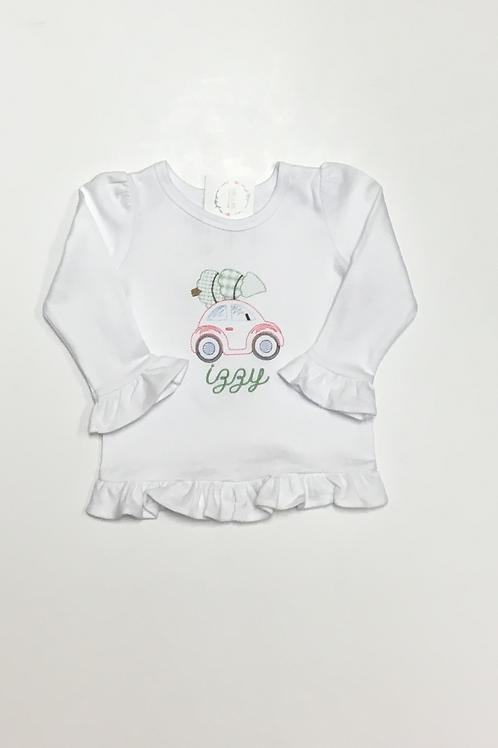 Girls Car & Tree Shirt