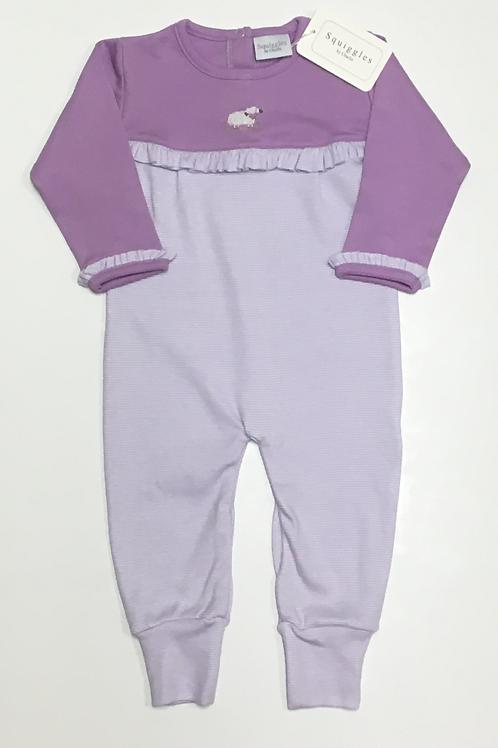 Squiggles Lavender Lamb