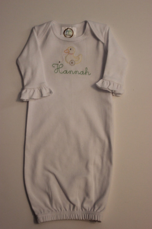 Duck Shadow Embroidery Layette