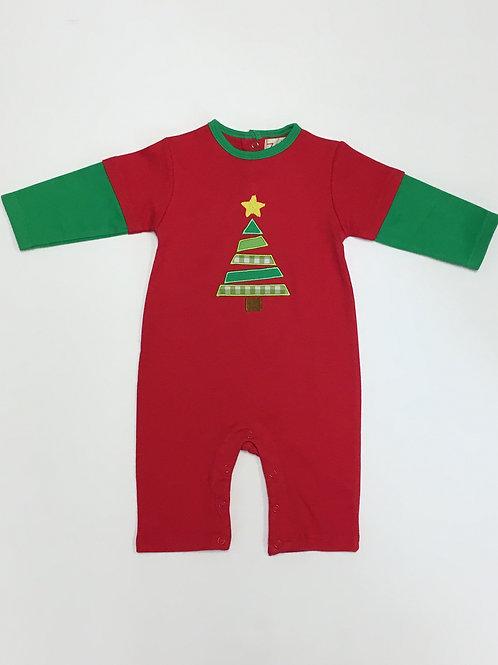 Knit Christmas Romper