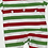 Thumbnail: Multi-Stripe Christmas Pajama