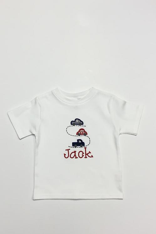 Cars Applique Shirt