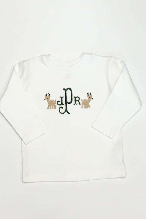 Mini Deer Monogram Shirt