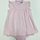 Thumbnail: Squiggles Pink Romper with Apron Front