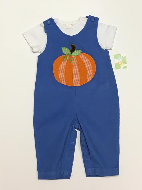 Blue Corduroy Pumpkin Longall