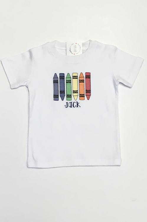 Colored Crayon Shirt