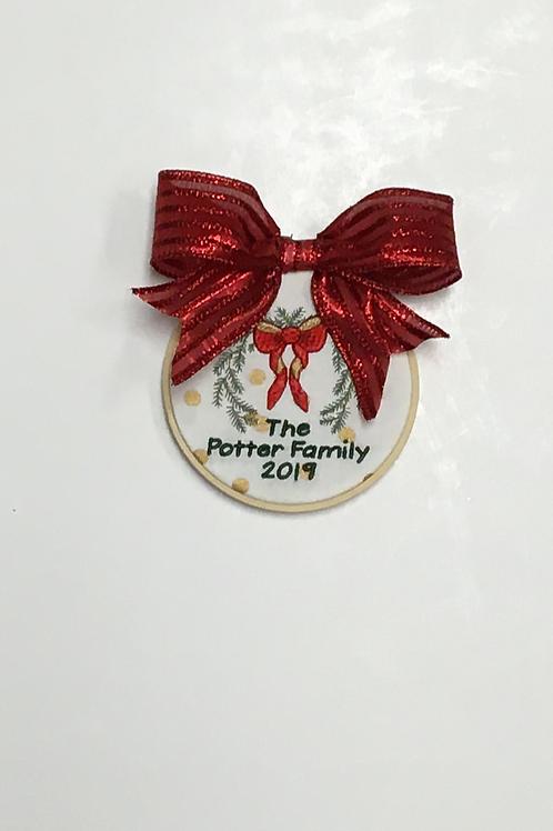 Christmas Swag Ornament