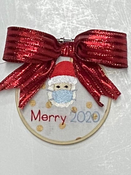 Santa Mask Ornament