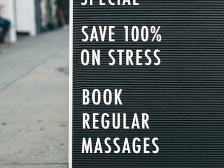 """Think You're """"Too Busy"""" for Massage?"""