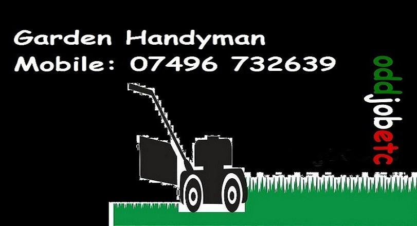 www.oddjobetc.co.uk Garden Handyman stoc