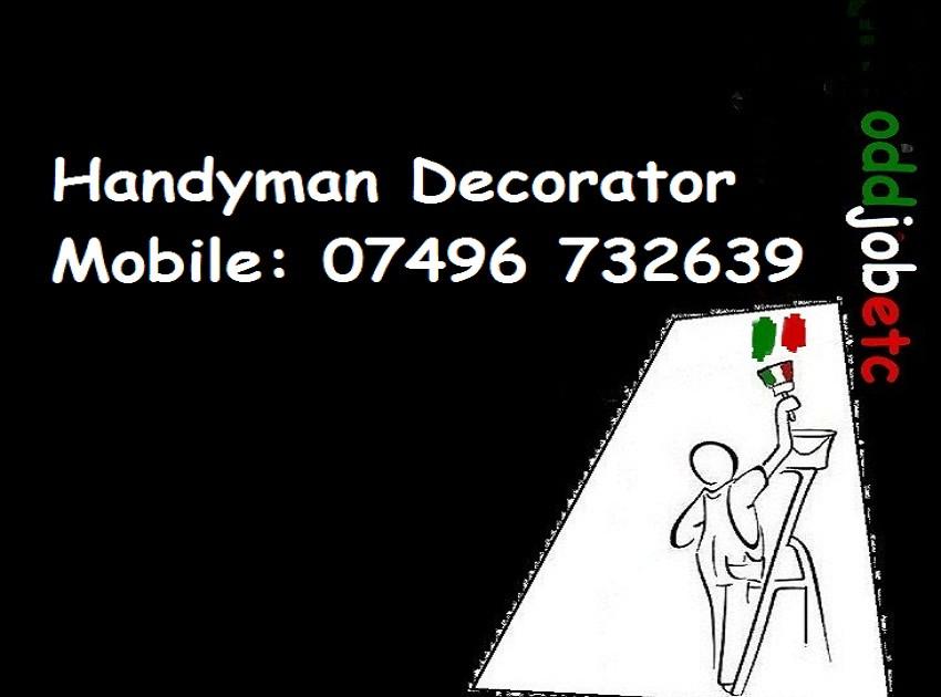 www.oddjobetc.co.uk handyman decorator s