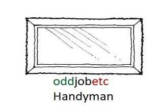 mirror hanging handyman in Stockport @oddjobetc