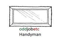 mirror hanging handyman in Stockport @oddjobetc