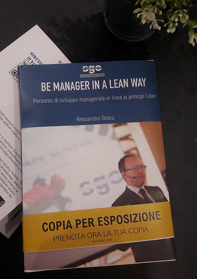"""""""Be Manager in a Lean Way"""""""