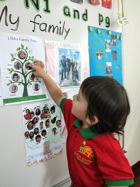 Parental Involvement: My Family